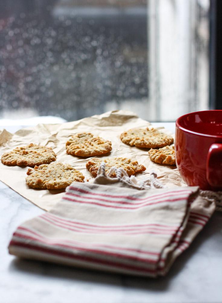 paleo lemon cookies