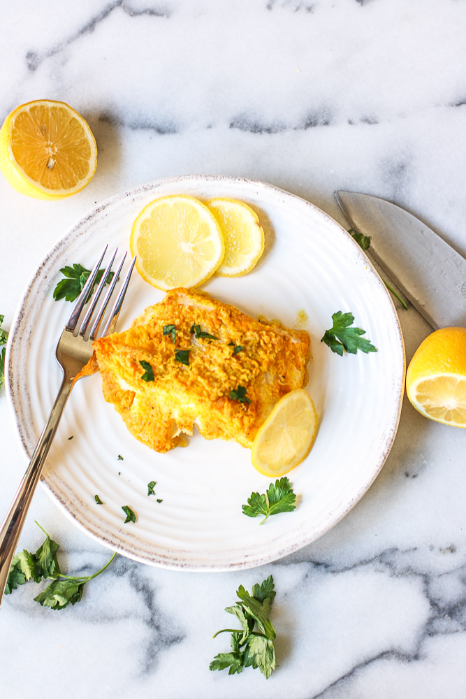 roasted turmeric cod