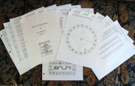Photo of Mayan Astrology report
