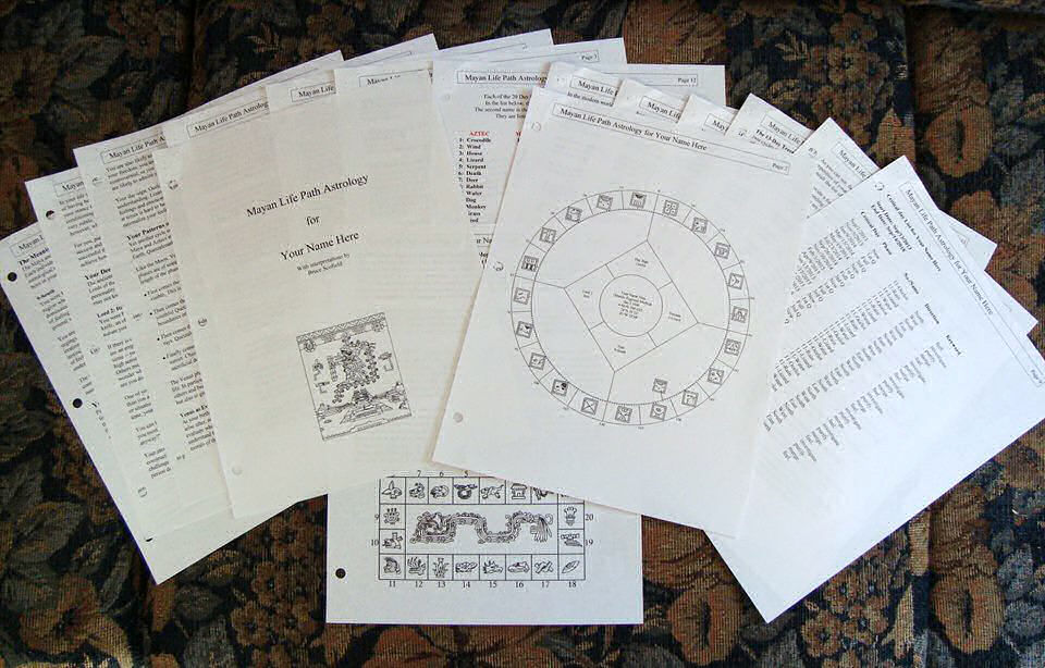 Mayan Astrology Report: 20% Off to Celebrate Tzolkin New Year!