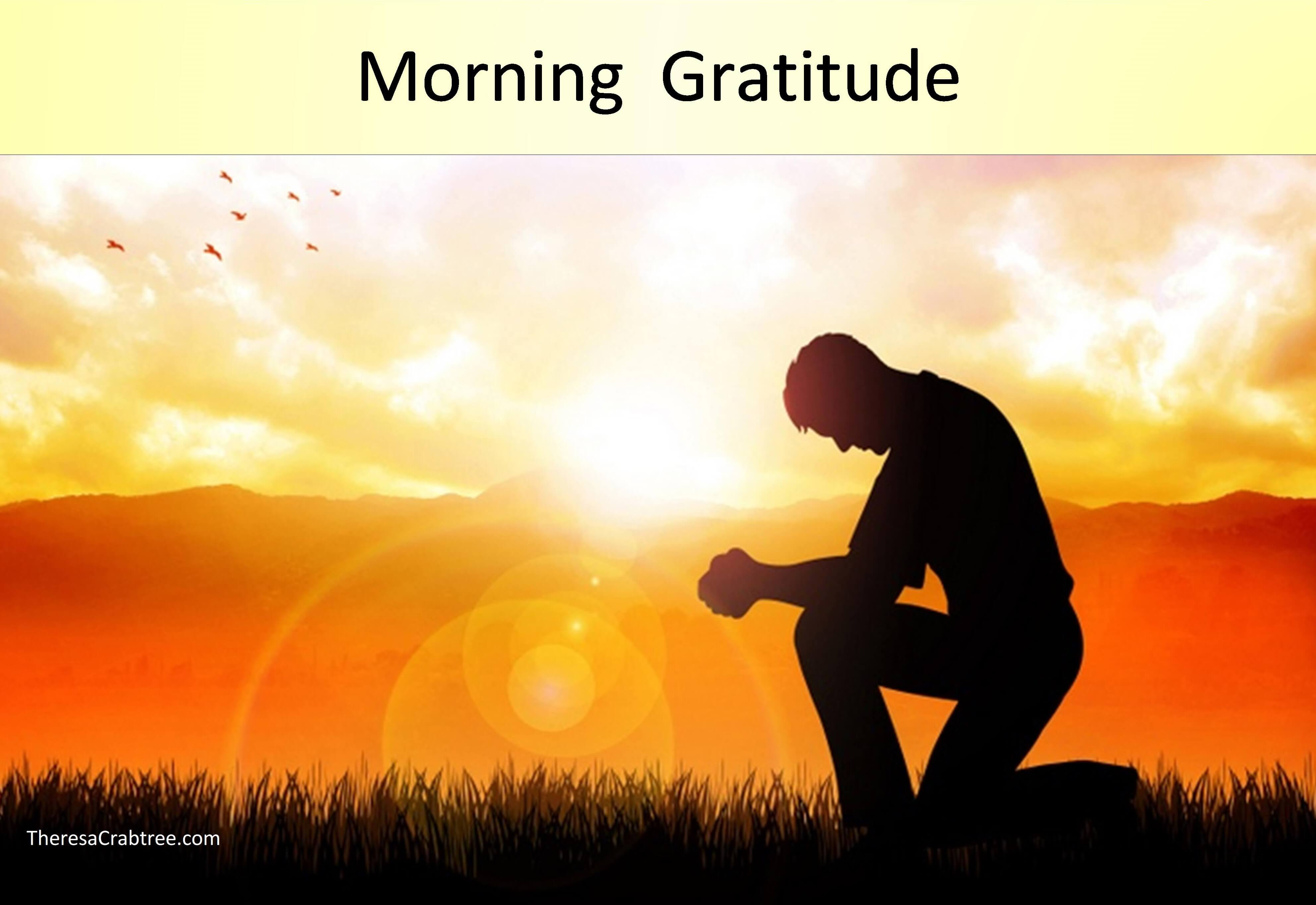 Soul Connection 212 ~ Morning Gratitude