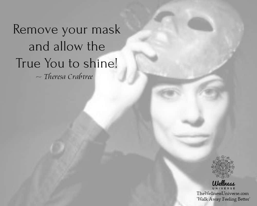 Remove your mask…