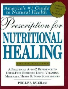Nutritional Healing Book Cover