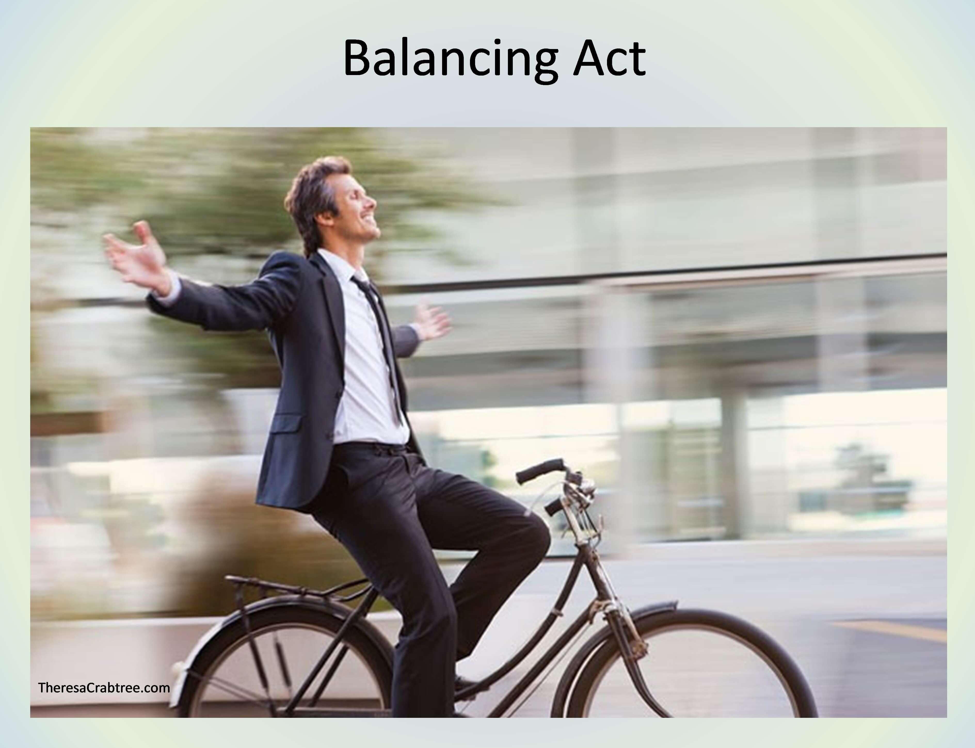 Balancing Act ~ Video