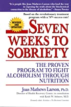 Seven Weeks to Sobriety book cover: Addiction Resource