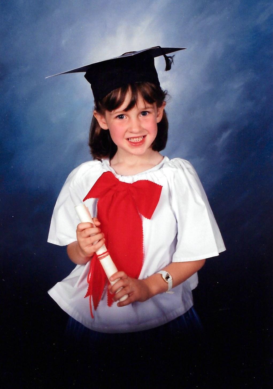 A Treasure: My Daughter's First Graduation Photo | Theresa