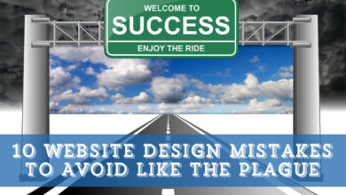 10 Website Design Mistakes to Avoid Like the Plague