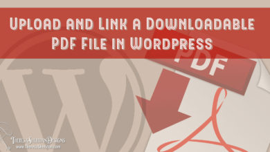 Upload and Link a Downloadable PDF File in WordPress