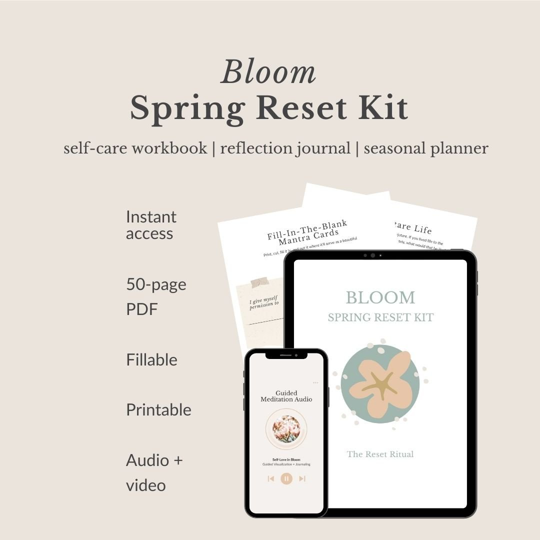 Reset Kits DIY Retreat and Planner