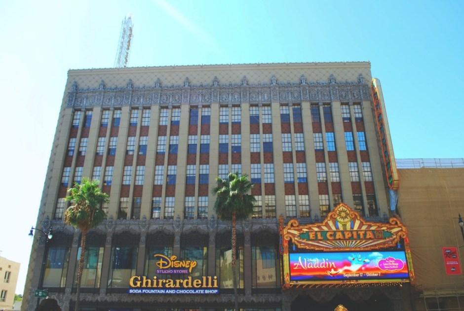 El Capitan Theatre, Hollywood Boulevard