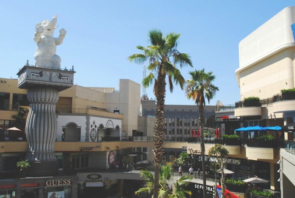 Hollywood/Highland Center, Hollywood Boulevard