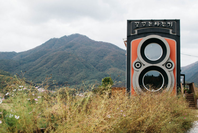 Dreamy Camera Cafe near Seoul, Korea