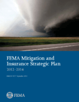 FEMA Mitigation and Insurance Strategic Plan, 2012-2014