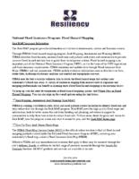 National Flood Insurance Program Flood Hazard Mapping