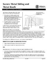 Secure Metal Siding & Metal Roofs
