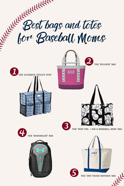 5 Baseball Mom Bags to buy