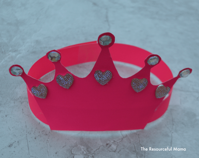 Queens Crown Kid Craft The Resourceful Mama