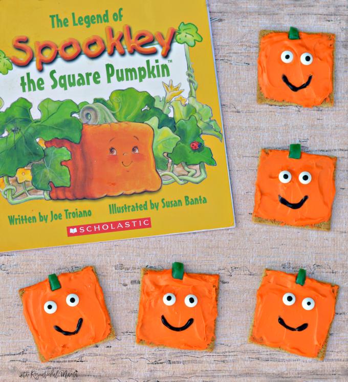 Spookley The Square Pumpkin Inspired Pumpkin Snacks The
