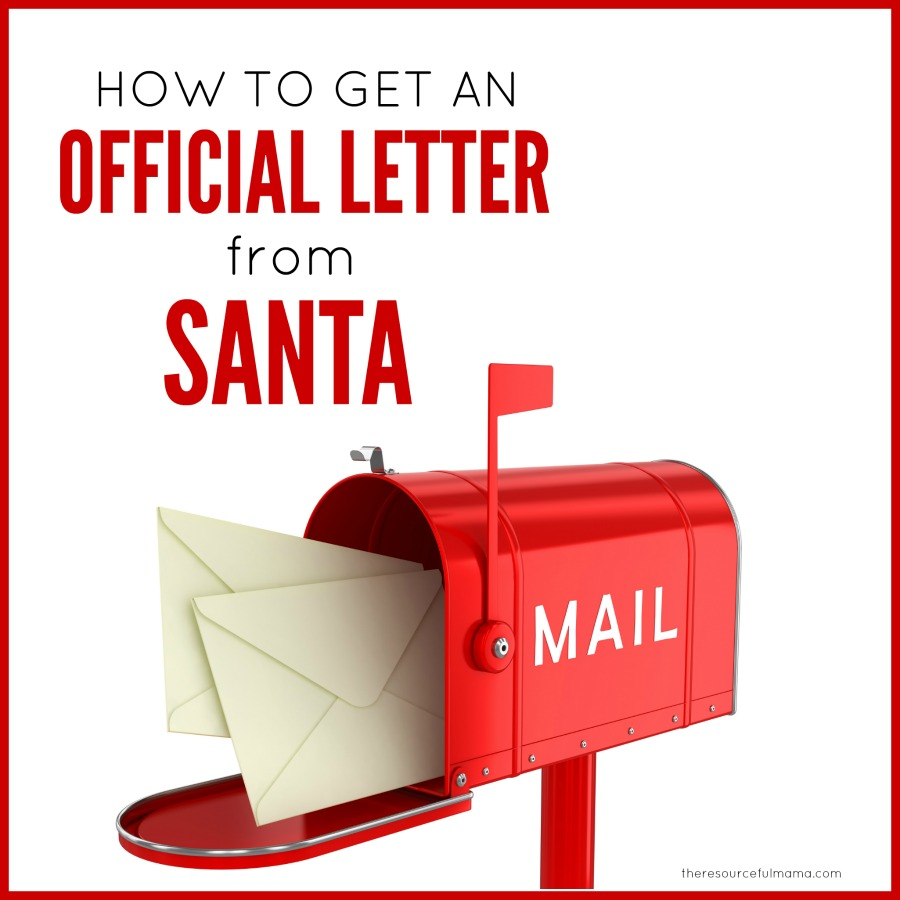 How To Get A Letter Back From Santa The Resourceful Mama
