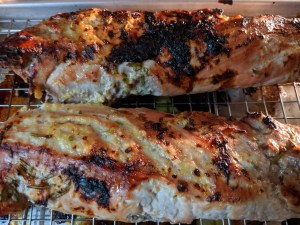 Orange Rosemary Pork Tenderloin