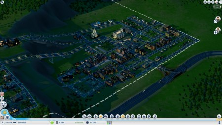 The main hub of my residential area. Watch out for fires!