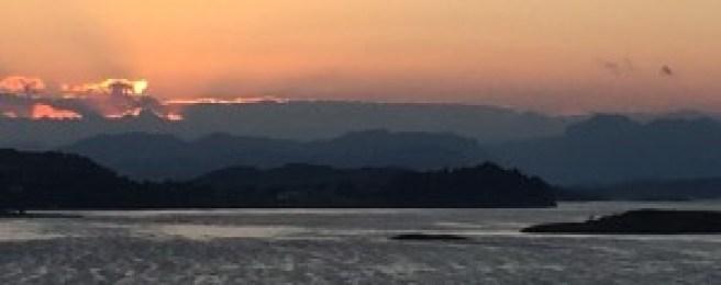 Norway Sunrise landscape