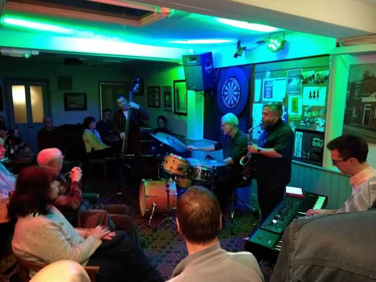 Simon Price & guests at The Retreat, Reading, 23 November 2019
