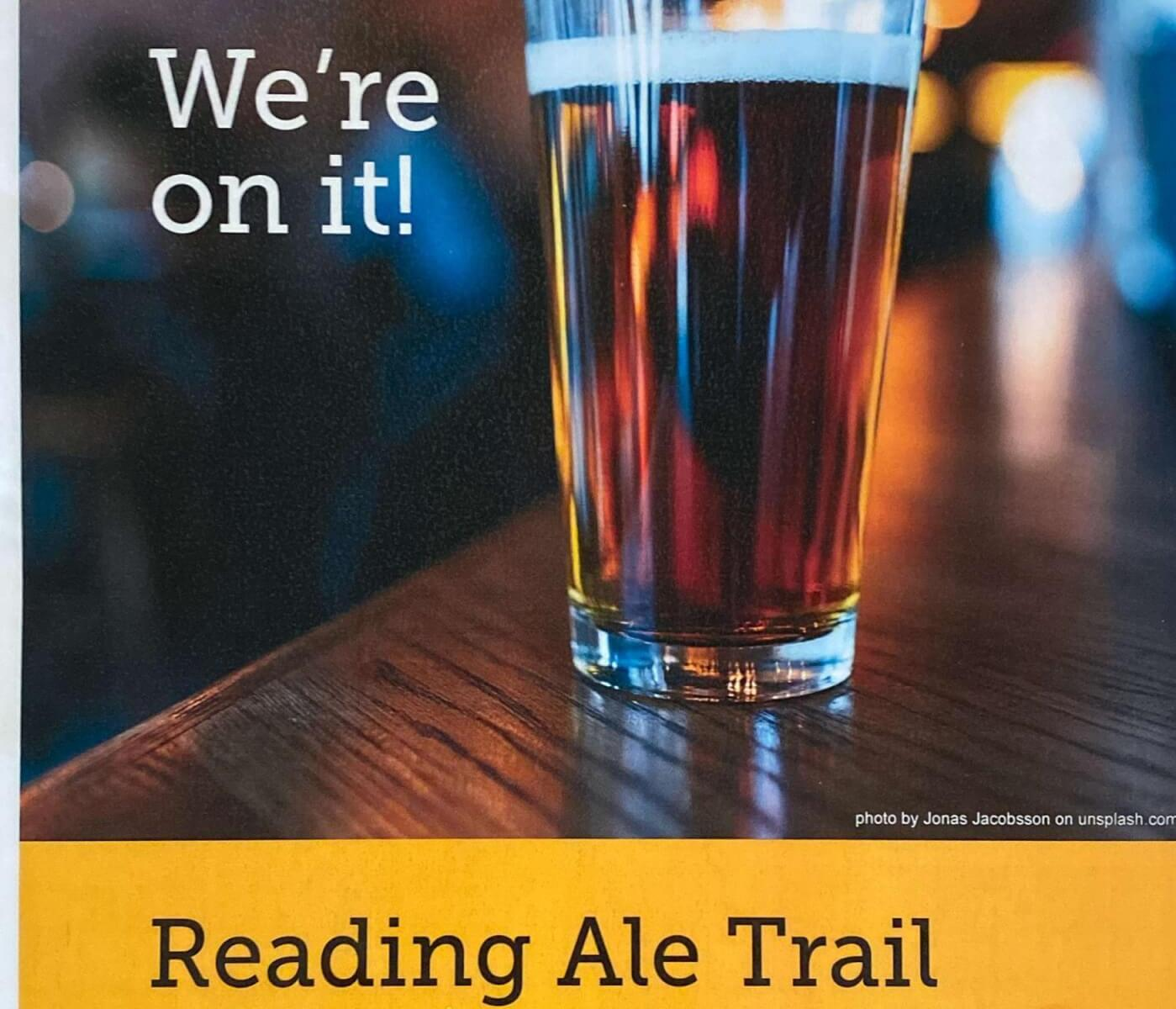 Reading Ale Trail...we're on it