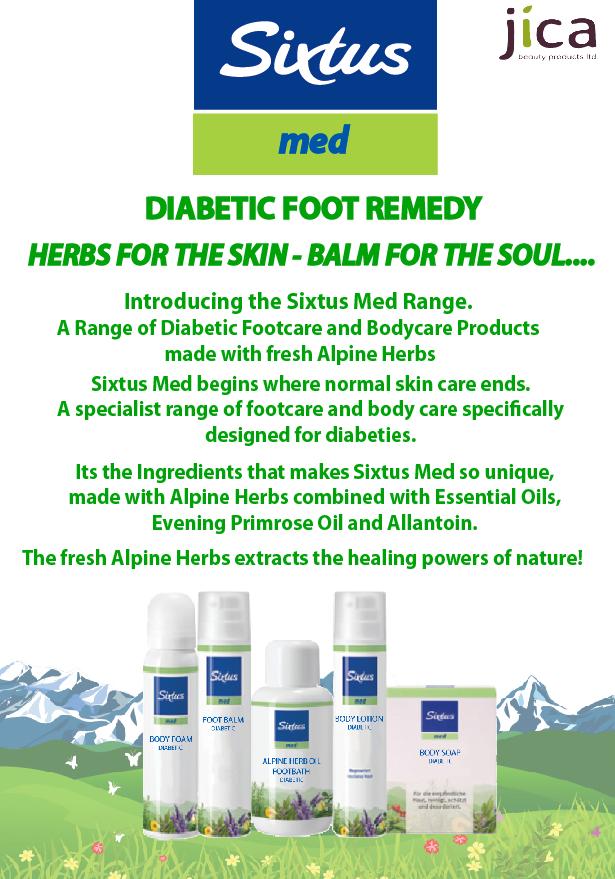 Sixtus Diabetic Foot Remedy