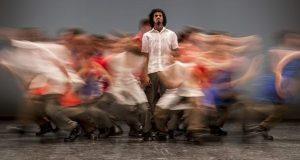 Danza Contemporánea de Cuba in Matri -Etnocentra -Foreground Iosmaly Ordoñez