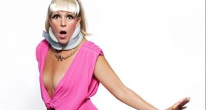 (Adrienne Truscott) (A One-Trick Pony) (Joe's Pub, NYC) (c)Allison Michael Orenstein