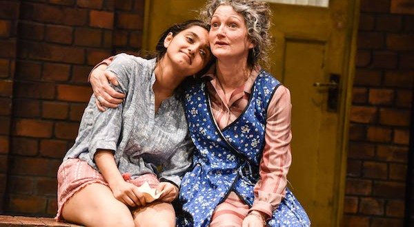 Aasiya Shah as Meena and Therese Collins and Mrs Worrall