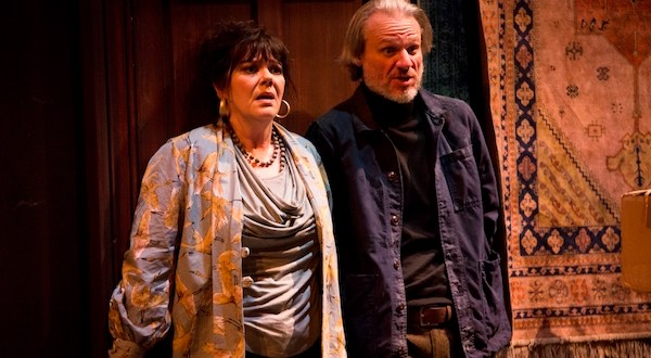 Josie Lawrence and Trevor Fox in Amédée