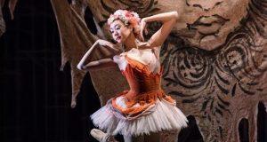 Oriental ballet dancer