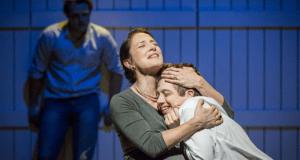 Orlando James, Natalie Radmall-Quirke, Tom Cawte Winter's Tale cheek by jowl citizens theatre glasgow
