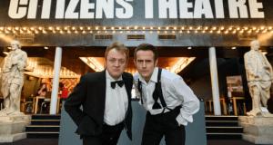 ryan fletcher in john byrne's cuttin a rug citizens theatre