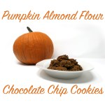 Easy Pumpkin Chocolate Chip Cookie Recipe made with Almond Flour