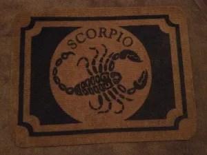 Scorpio Floor Mat