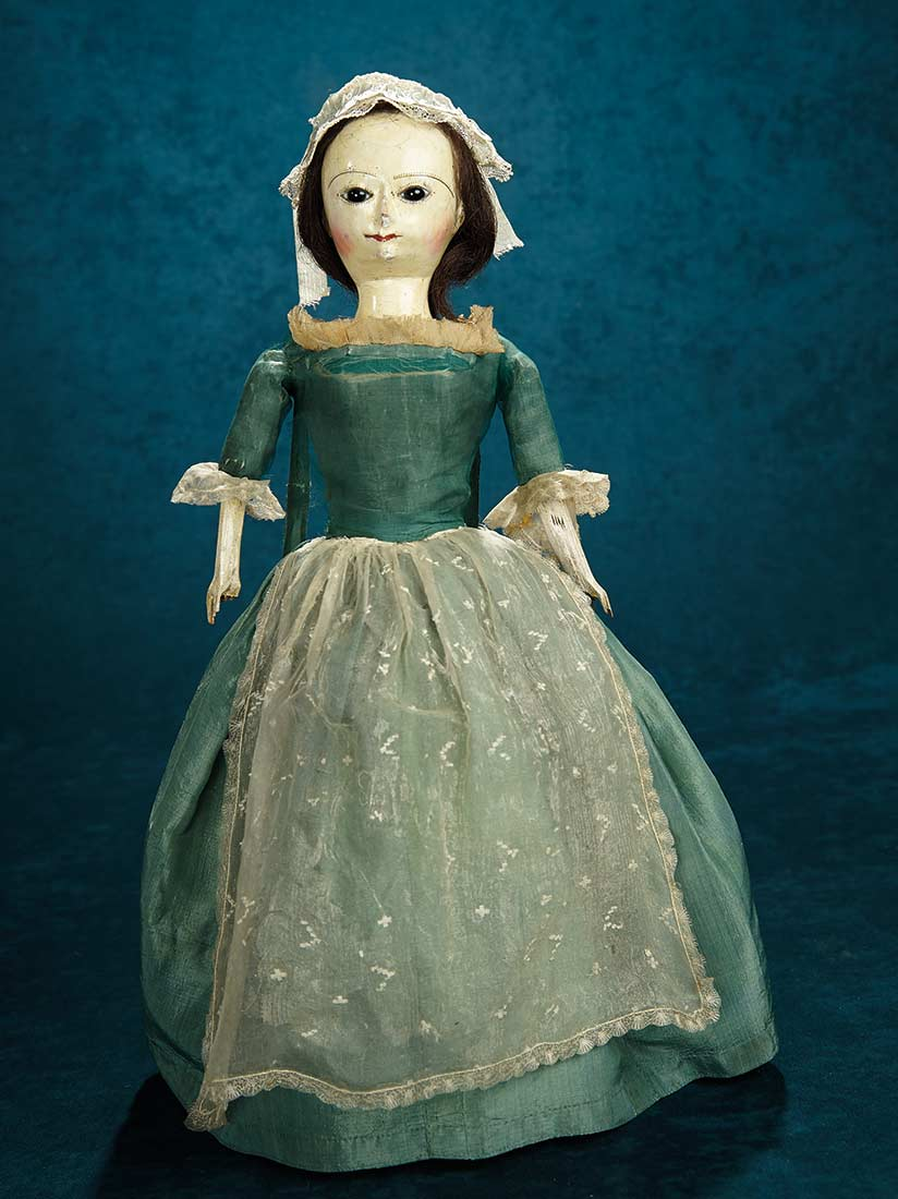 Forever Young 2 Early English Wooden Doll With Highly