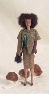 More Mid Century American Dolls  8 Fashion Queen Barbie in  Gold  n     Fashion Queen Barbie in  Gold  n Glamour