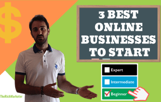 3 best online business to start for beginners
