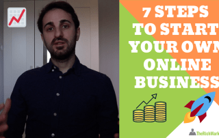 7 steps to start your own online business