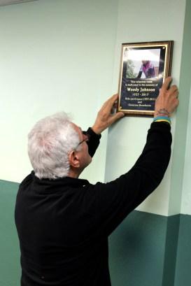 hanging plaque