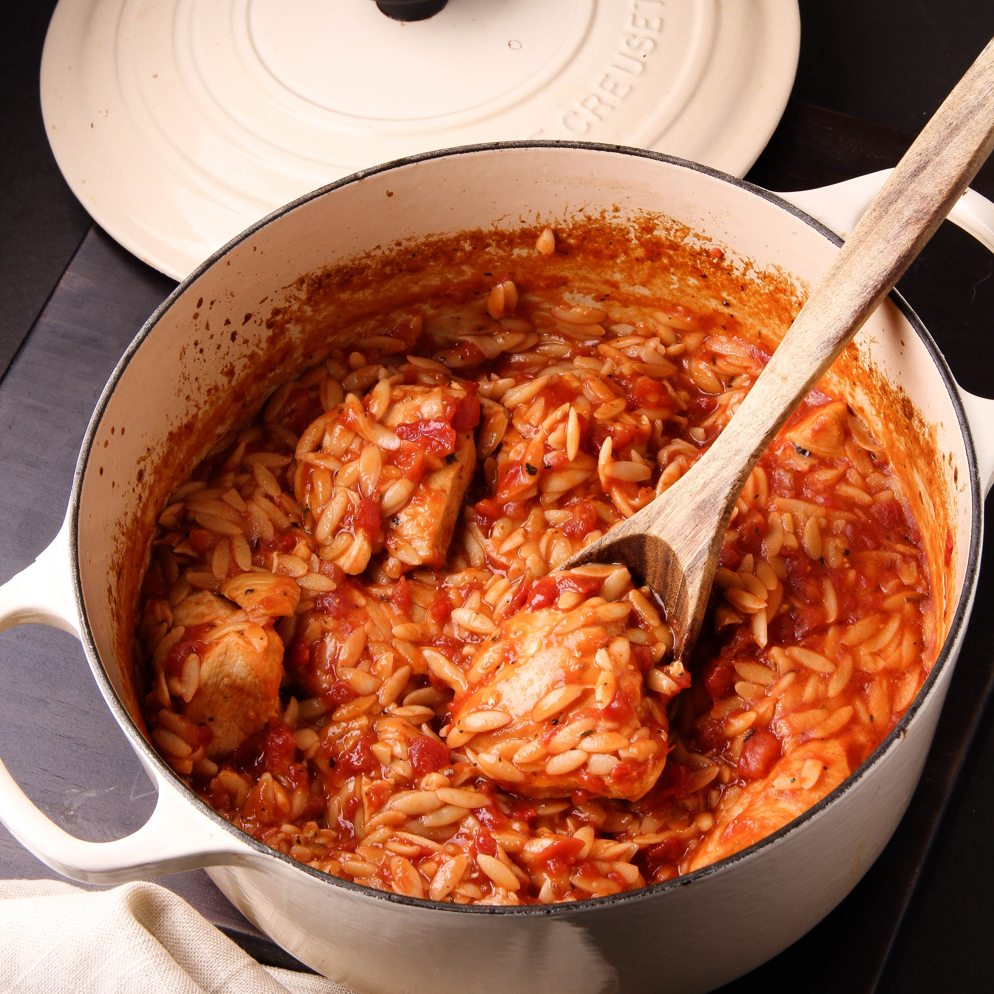Baked Chicken With Orzo The Right Recipe