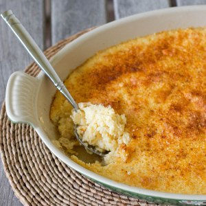 Stone Ground Grits 'n' Cheese Casserole