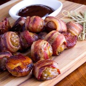 Little Leebos (Bacon Wrapped Potato Bites)