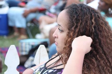 Andrea at RVA Jazz Festival at Maymont
