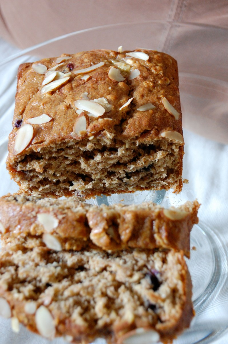 blueberry banana oatmeal amish bread.