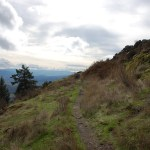 hiking spencer butte.