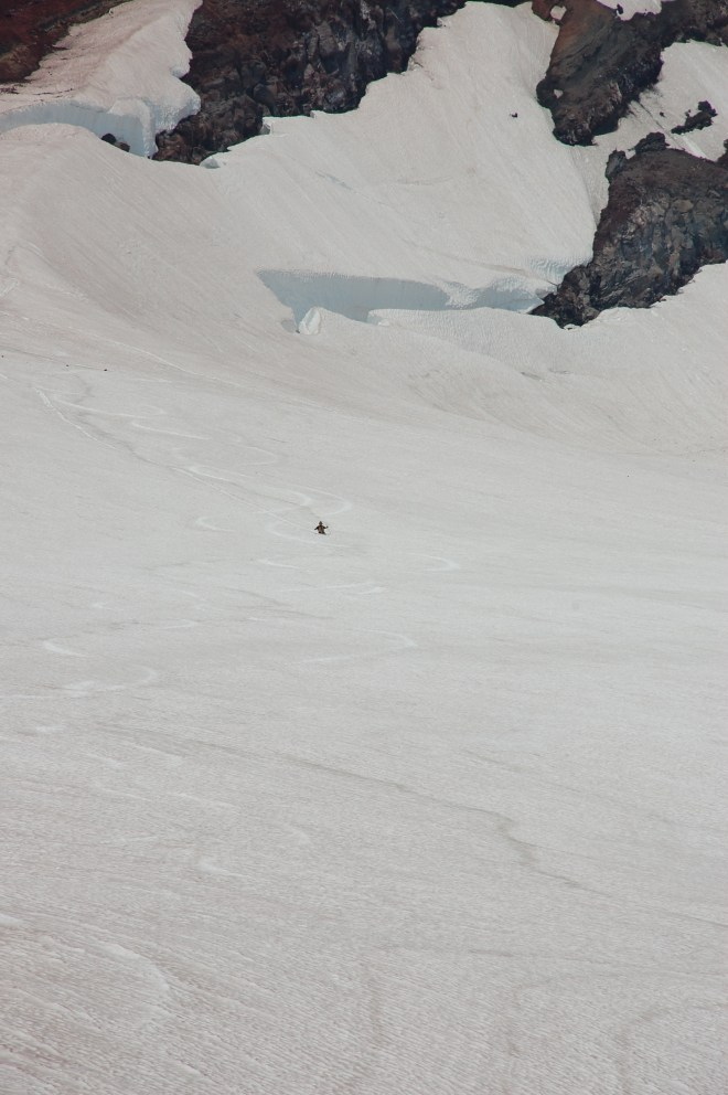You know, just someone sledding down the side of the mountain.
